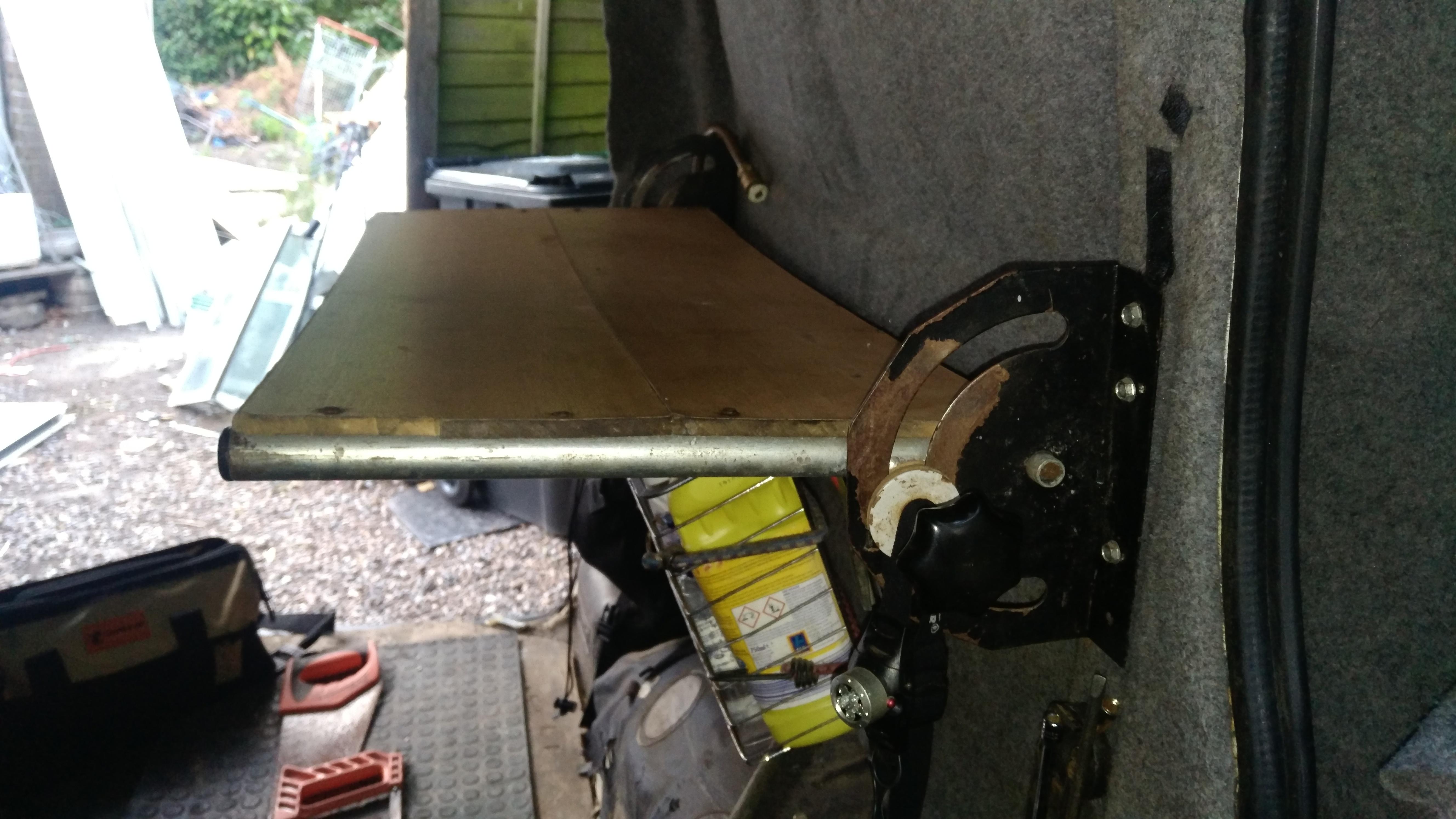 Floating Folding Table