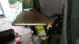 Workvan/Campervan Hacks – The Floating Table