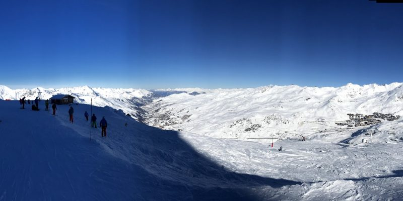 Bozel as a base for skiing Courchevel